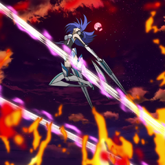 Tsubasa being attacked by Finé