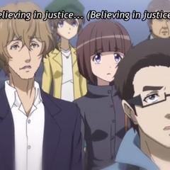 Akira having a flashback of witnessing Hibiki in <a href=