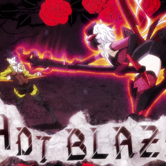 Red Hot Blaze used as a club