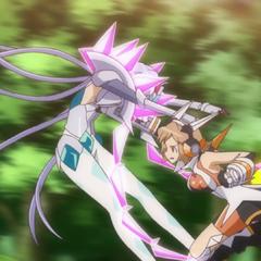 Hibiki Style・Spear Rush Critical Strike