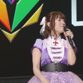 Yuka giving speech during <a href=