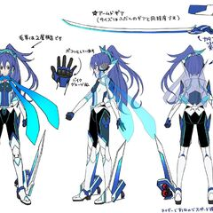Tsubasa Rider's Gear Concept Art