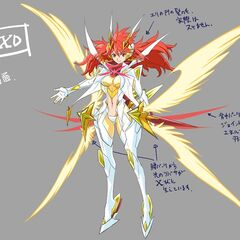 Concept art of Kanade's X-Drive