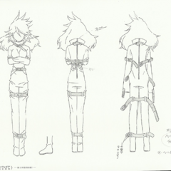 Young Kanade Straitjacket Sheet