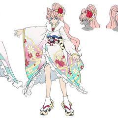 Maria's Furisode Gear Concept Art
