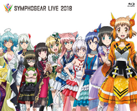 Symphogear Live 2018 Cover
