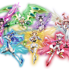 All character's X-Drive forms in <i><a href=