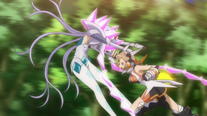 Episode 6 Hibiki Punches Chris