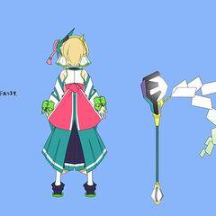 Kirika's Maiden Gear Concept Art