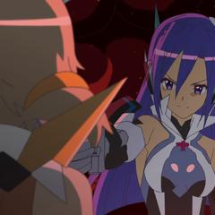 Tsubasa invites Hibiki to fights