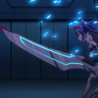 Tsubasa's second Armed Gear 'Giant Sword'