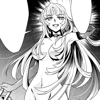 Finé as she appears in the manga.
