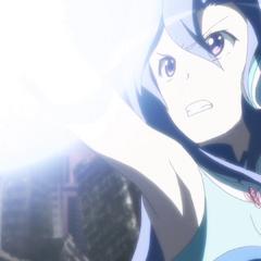Tsubasa supply more energy to Hibiki
