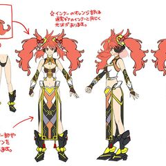 Kanade's Chinese Gear Concept Art