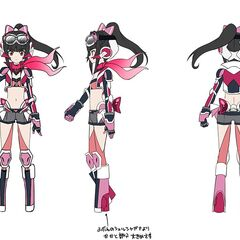 Shirabe Rider's Gear Concept Art