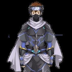 Shinji in Ninja outfit 2