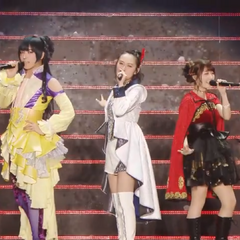 Minako along with Shouta and Rina singing <a href=