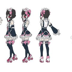 Shirabe's Maid Gear Concept Art