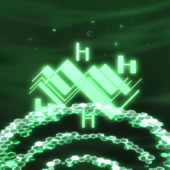 Wind alchemy symbol