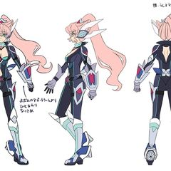 Maria Rider's Gear Concept Art