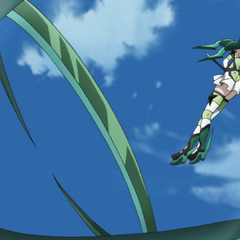 Kirika attacking