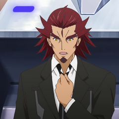 Genjuro in a suit