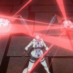 External Arms Laser