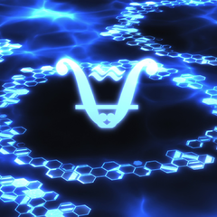 Water alchemy symbol