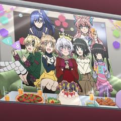 Birthday celebration photo
