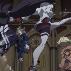 Vanessa kicks Garie