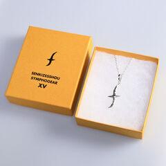 Hibiki Chest Scar Silver Necklace