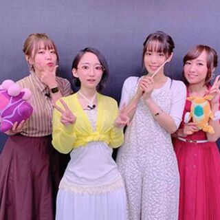 Yuka with Ayahi, Yōko and Aoi in <a href=