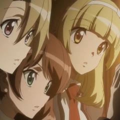 Kuriyo, Shiori, Yumi sneak peek