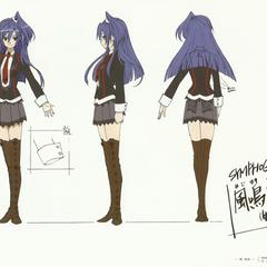 Tsubasa's School Uniform