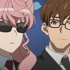 Maria and Ogawa in disguise