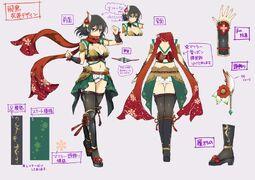Asuka boceto 09