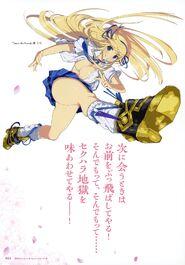 Yande.re 460711 sample cleavage heels katsuragi no bra open shirt seifuku senran kagura yaegashi nan