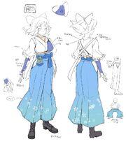 Yumi New Link - Bocetos