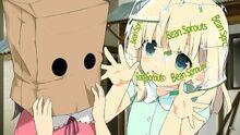 Yomi y Murakumo pequeñas