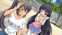 Homura y Mirai Infinite Heroins