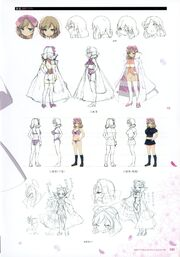 Yande.re 460751 sample bra character design cleavage haruka (senran kagura) heels pantsu seifuku senran kagura thighhighs weapon yaegashi nan