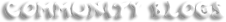 Mainpage-Header-Community Blogs