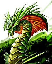 Viper dragon by artbyelde-d4mffnz