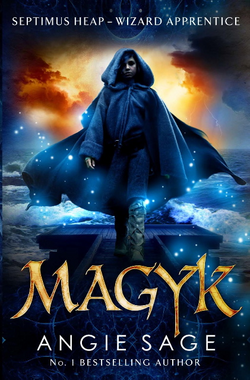 Magyk Bloomsbury Cover