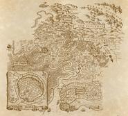 Map from the Dutch Septimus Heap website