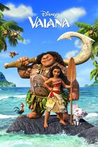 Vaiana poster europe