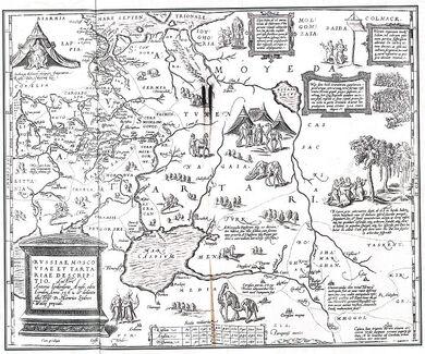 Russiae-Moscoviae-et-Tartariae-Descriptio-Anthony-Jenkinson-and-Gerard-de-Jode-1562-1598