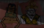 Paleta w łóżku