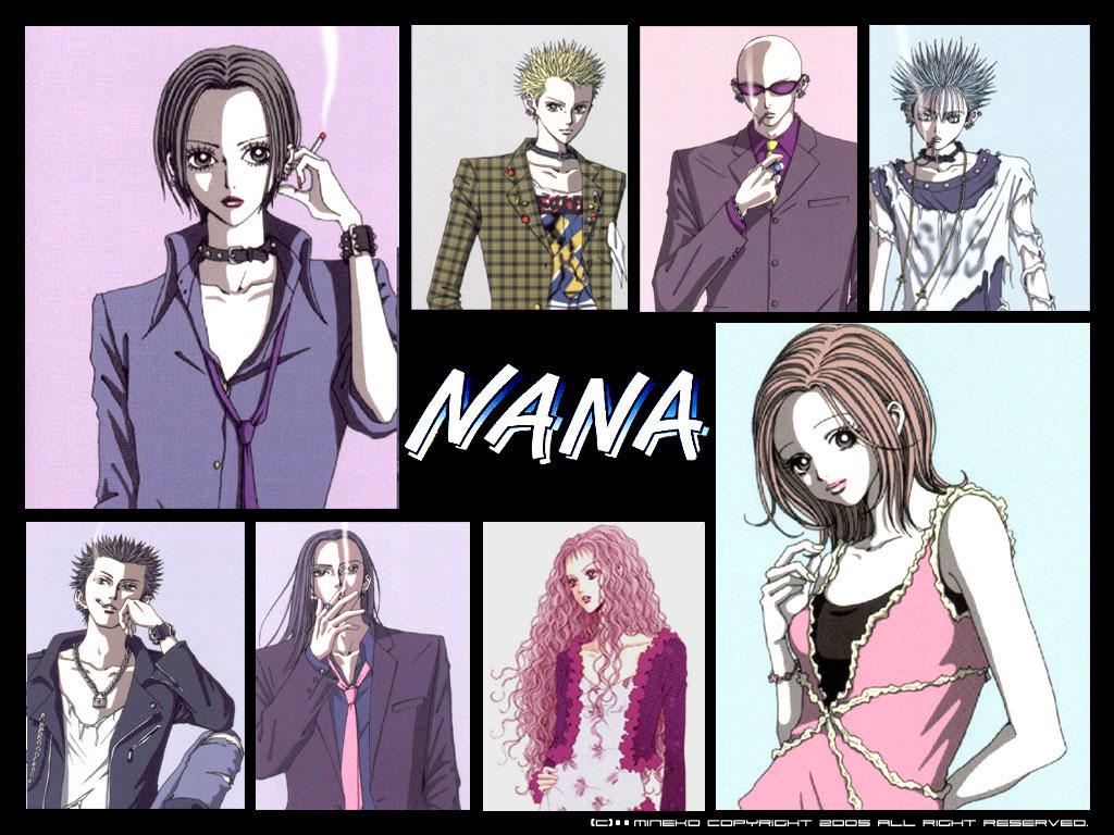 Картинки по запросу nana anime poster