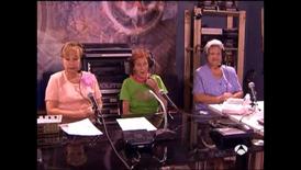 Radio patio en el estudio